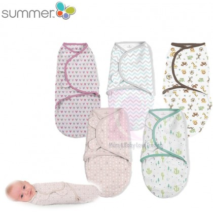 Summer Infant SwaddleMe Original Swaddle (0-3 Months) / (4-6 Months) 1pc